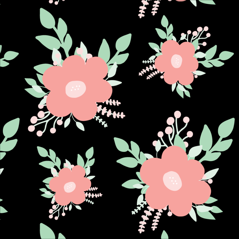 flower seamless patterns, flower, pattern