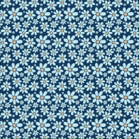 blue flowers, pattern