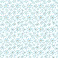 pattern, blue flowers pattern