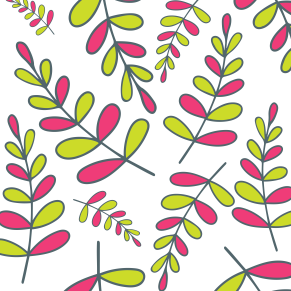 Pinky greenary leaves