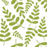 Light green leaves pattern
