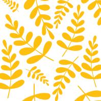 Yellow leaves pattern