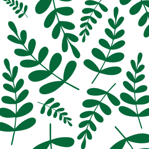Greenary leaves pattern