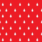 Raindrops red