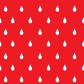 Raindrops red