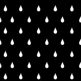 Raindrops black