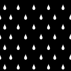Raindrops black