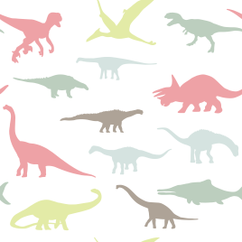Cute dinosaurus