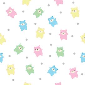 Cute bears pattern