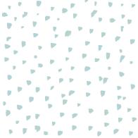 Blue brush dots