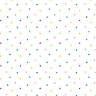 Colorful triangel pattern
