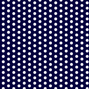 Little dots in dark blue