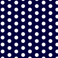 Dots in dark blue