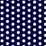 Dots in dark blue