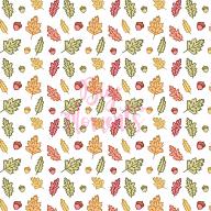 Fall leaves pattern