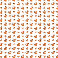 Red foxes pattern