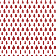 Christmas red tree pattern